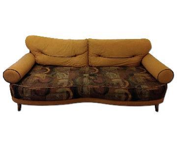Modern Microsuede Sofa w/ Storage
