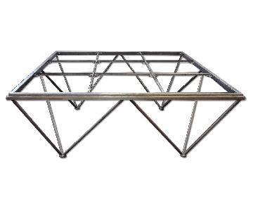 Modern European Style Octagon Metal Coffee Table