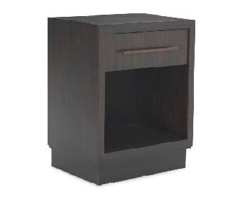 Mitchell Gold + Bob Williams Banks Side Table in Dark Brown