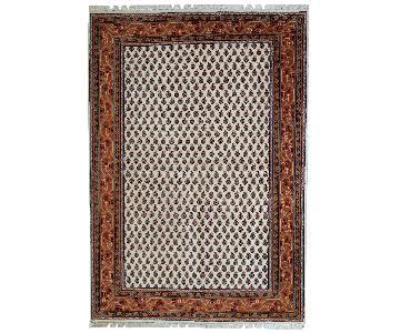 Vintage 1980s Indian Seraband Rug