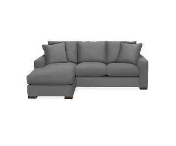 Room & Board Metro Reversible Sectional Sofa