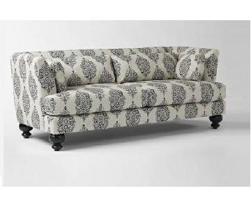 West Elm Essex Sofa in Paisley
