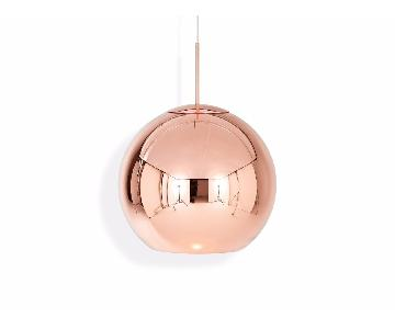 Tom Dixon Copper Round Pendant