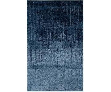Tenth Avenue Light Blue/Blue Area Rug