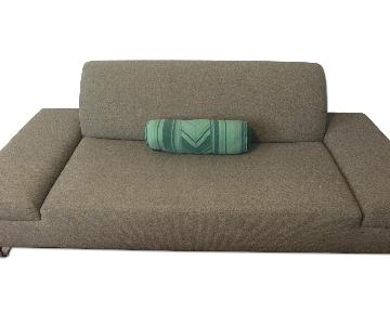 Stone Grey Contemporary Sofa