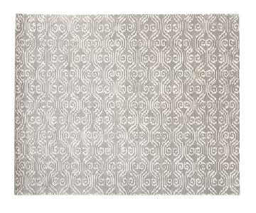 Pottery Barn Lizzie Area Rug 8 x 10 feet