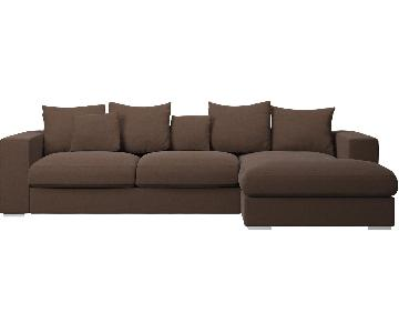 BoConcept Stockholm/Cenova Sectional Sleeper Sofa