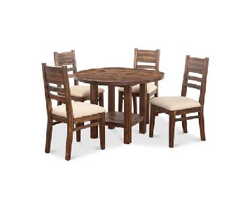 Macy's Avondale Dining Table w/ 4 Chairs