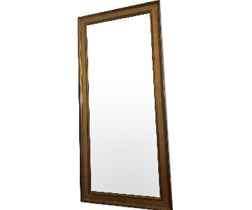Full Length Mirror w/ Wood Frame