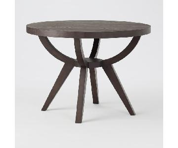 West Elm Arc Base Pedestal Dining Table in Ash