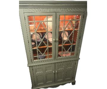 Lighted China Cupboard