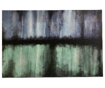Blue/Green Abstract Wall Art