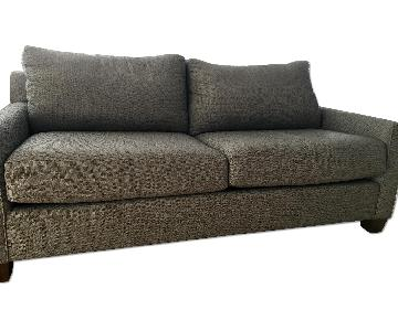 King Hickory Furniture Grey Couch