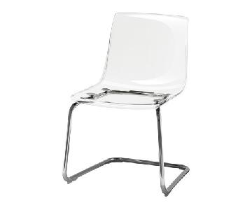 Ikea Tobias Clear Dining Chair