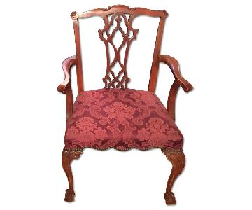 Baker Chippendale Style Dining Chair w/ Ball & Claw Legs