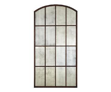 Ballard Designs Arched Window Floor Mirror