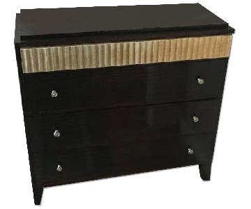 Black Lacquer Bedroom Dresser