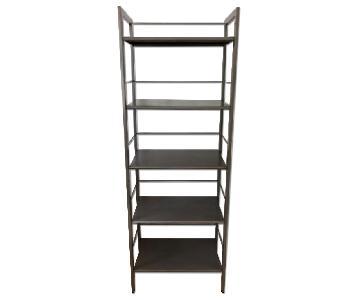 Crate & Barrel Metal 5 Tier Shelf