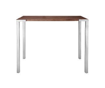 CB2 Stilt Wood Counter Table