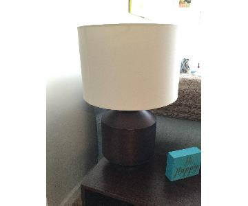 CB2 Table Lamp