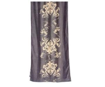 Anthropologie Viceroy Velvet Curtain