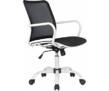 Modern Black Mesh Office Chair