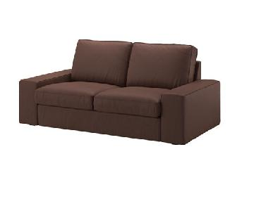 Ikea Brown Sofa