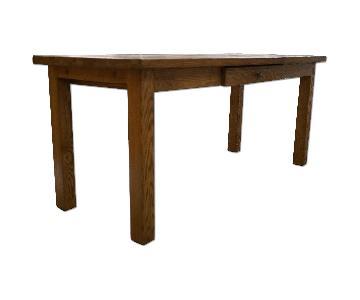 Hand Built Reclaimed Wood Desk
