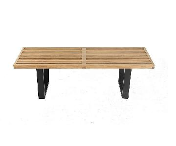 Nelson Bench/Coffee Table Reproduction