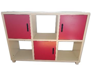 Wood Bookcase/Storage unit
