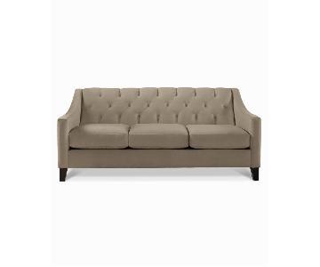 Macy's Chloe Grey 3 Seater Sofa