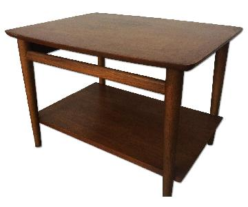 Lane Mid Century Danish Modern Table