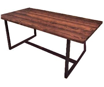 Reclaimed Lumber Dining Table
