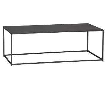 CB2 Mill Industrial Iron Coffee Table