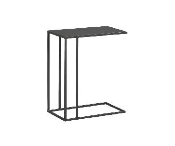 CB2 Industrial Iron Mill C Side Table