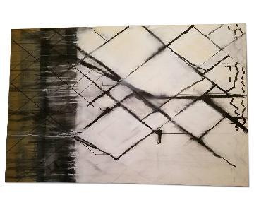 Large Canvas Wall Art - EUC