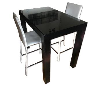 Custom Made Kitchen Table w/ 2 Chairs