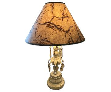 Vintage Shabby Chic Table Lamp