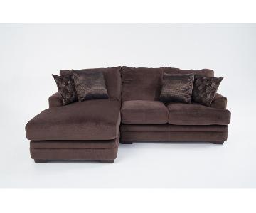 Bob's Charisma 2-Piece Sectional Sofa