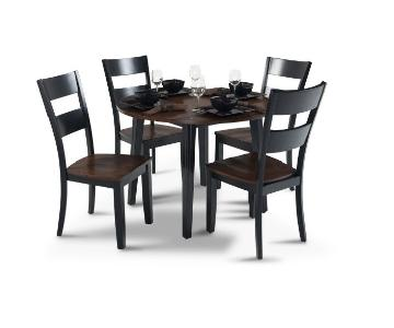 Bob's Blake Drop Leaf 5 Piece Dining Set