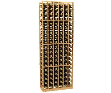 Allavino Redwood 6 Column 114 Bottle Wine Rack