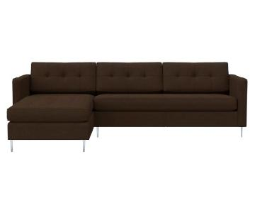 CB2 Ditto 2-Piece Sectional Sofa w/ Chaise