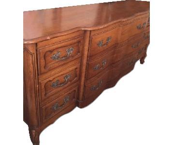 Wood 9 Drawer Bedroom Dresser