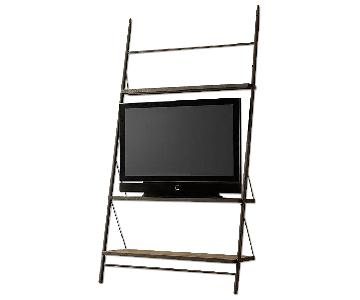 Restoration Hardware Leaner Shelf/TV Stand