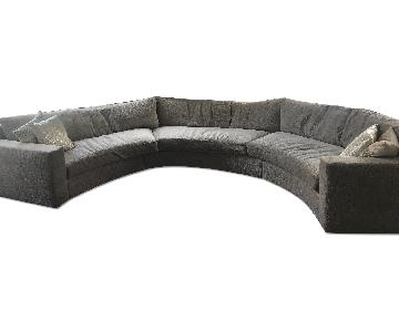 Clifford Young Curve Clip Sectional Sofa