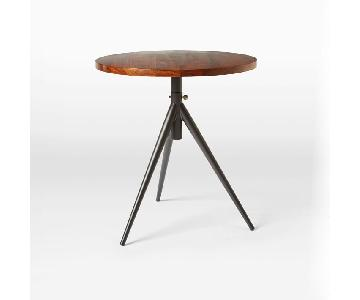 West Elm Round Adjustable Height Bistro Table