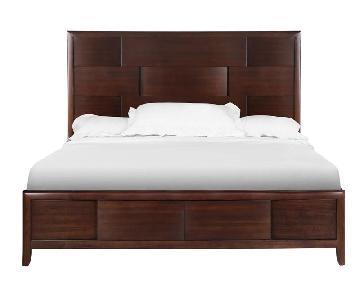 Raymour & Flanigan Magnussen Nova Queen Size Bed