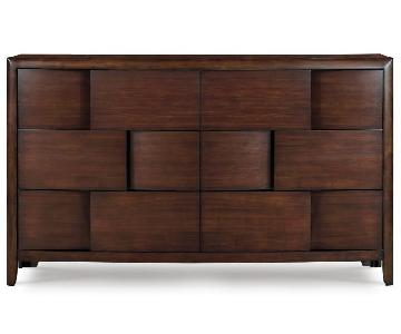 Magnussen Home Modern Chestnut Six Drawer Dresser