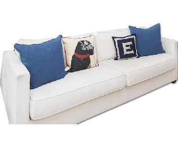 ABC Carpet and Home Linen Sofa