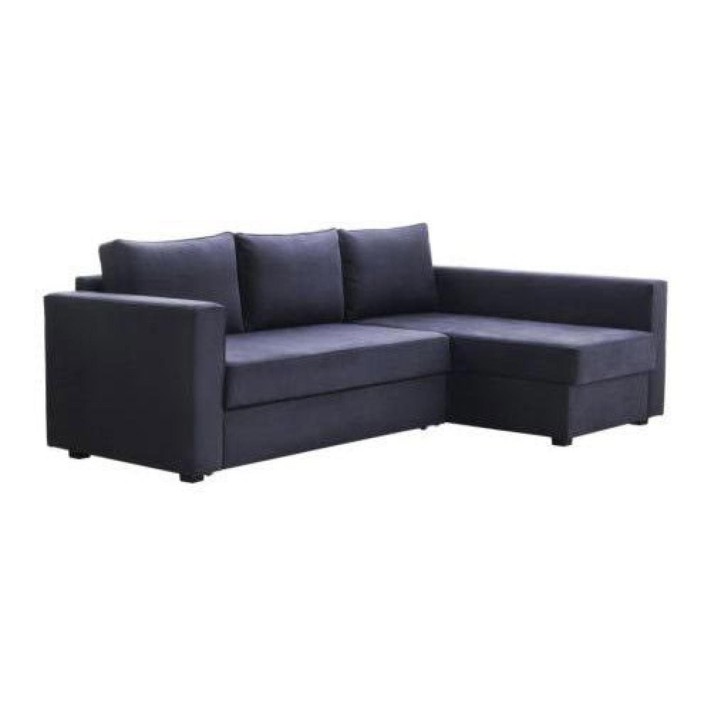 Great Ikea Manstad Sectional Sofa W/ Storage ...